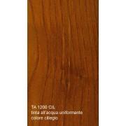 Tinta all'acqua uniformante per legno colore ciliegio