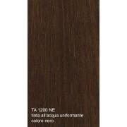 Tinta all'acqua uniformante per legno colore nero