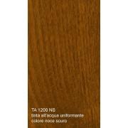 Tinta all'acqua uniformante per legno colore noce scuro