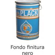 Fondo finitura all'acqua nero opaco per legno da interno
