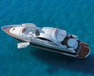 Yacht verniciato e protetto con vernici all'acqua Plack
