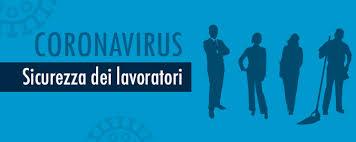 coronavirus covid-19 sicurezza lavoratori e sanificazione ambiente di lavoro