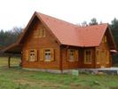 Ripristino di legno di case effettuato con vernici ritonificanti all'acqua Plack